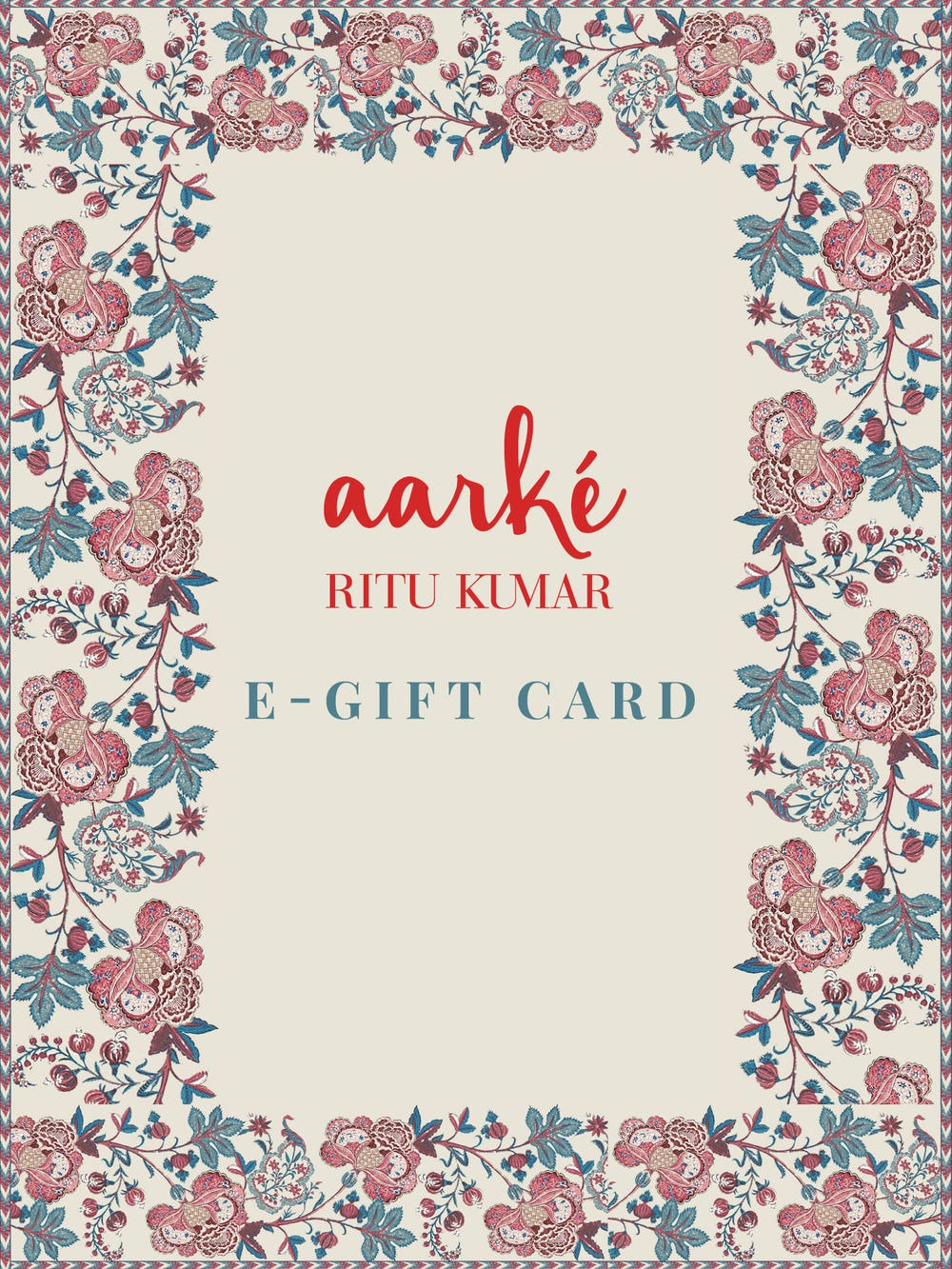 Aarke E gift Card